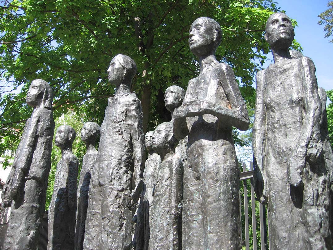 The sculptures were originally meant for the Ravensbrück National Memorial. - <em>by SL Wong</em>