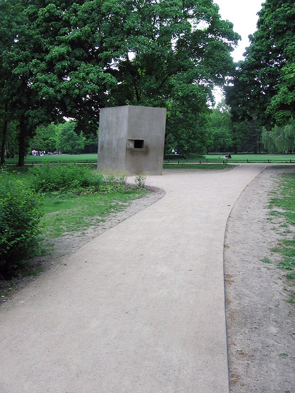 The monument was initiated by the initiative, 'Remember the Homosexual Victims of National Socialism', and the Lesbian and Gay Federation of Germany (LSVD).  - <em>by SL Wong</em>