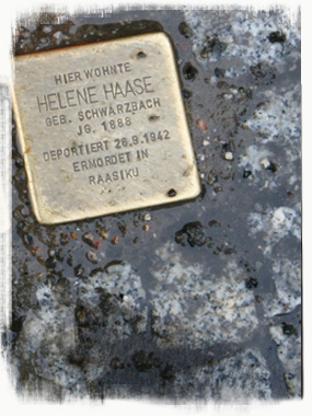 Stumbling Stone Memorials