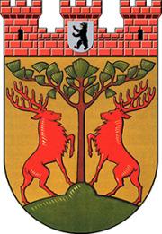 Coat of arms of Schoeneberg - Paul Egeling [Public domain], via Wikimedia Commons