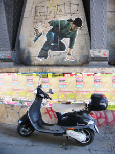Graffiti on Geschwister-Scholl-Str is coincidentally appropriate to its location. - <em>by SK Mandal</em>