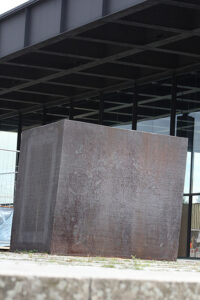 Berlin Block (for Charlie Chaplin) by Richard Serra. - <em>by SL Wong</em>