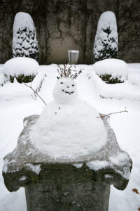 Perfect snowman-making conditions. - <em> by SL Wong</em>