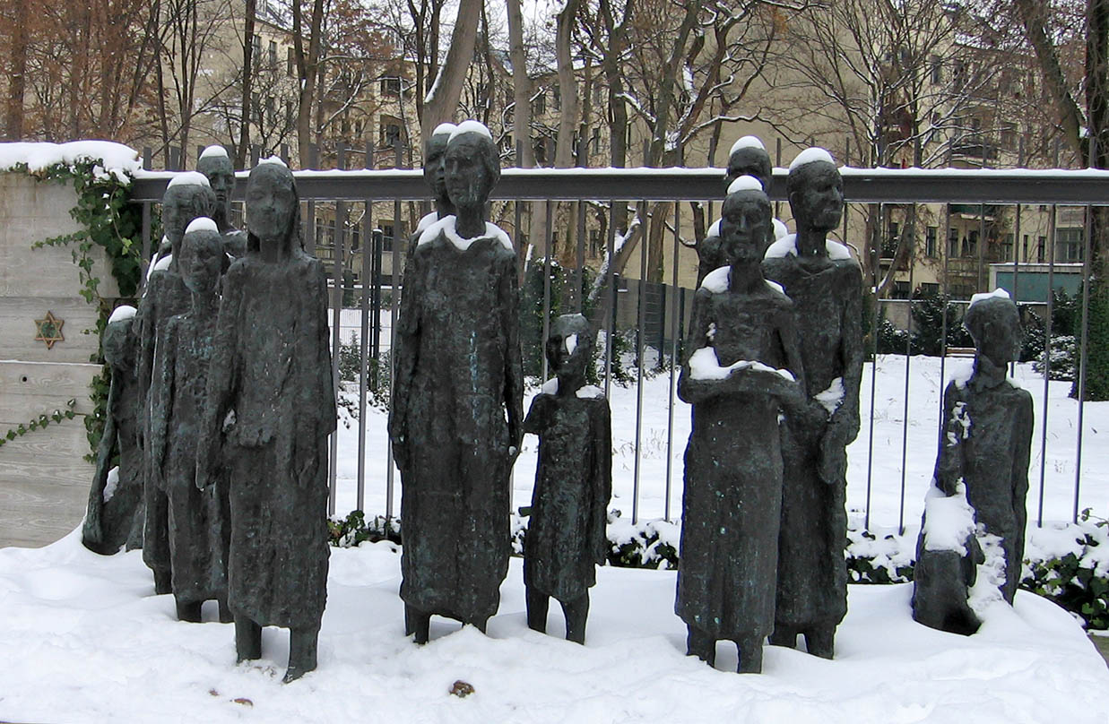 We visited the site one last time in Winter – the memorial was striking in the snow. - <em>by SK Mandal</em>