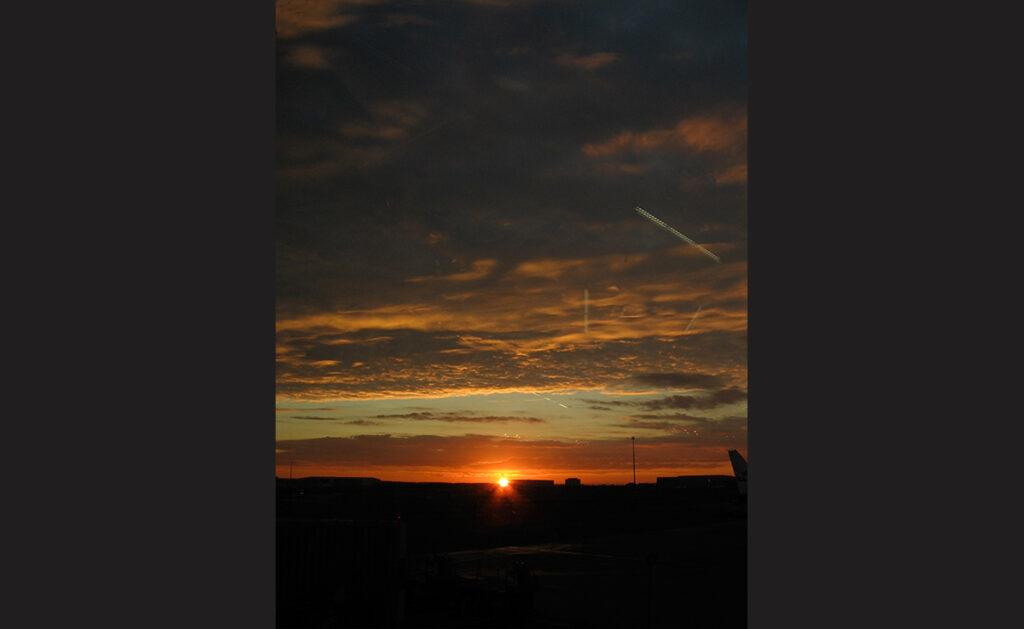 Dawn at Amsterdam Airport Schipol. - <em>by SL Wong</em>