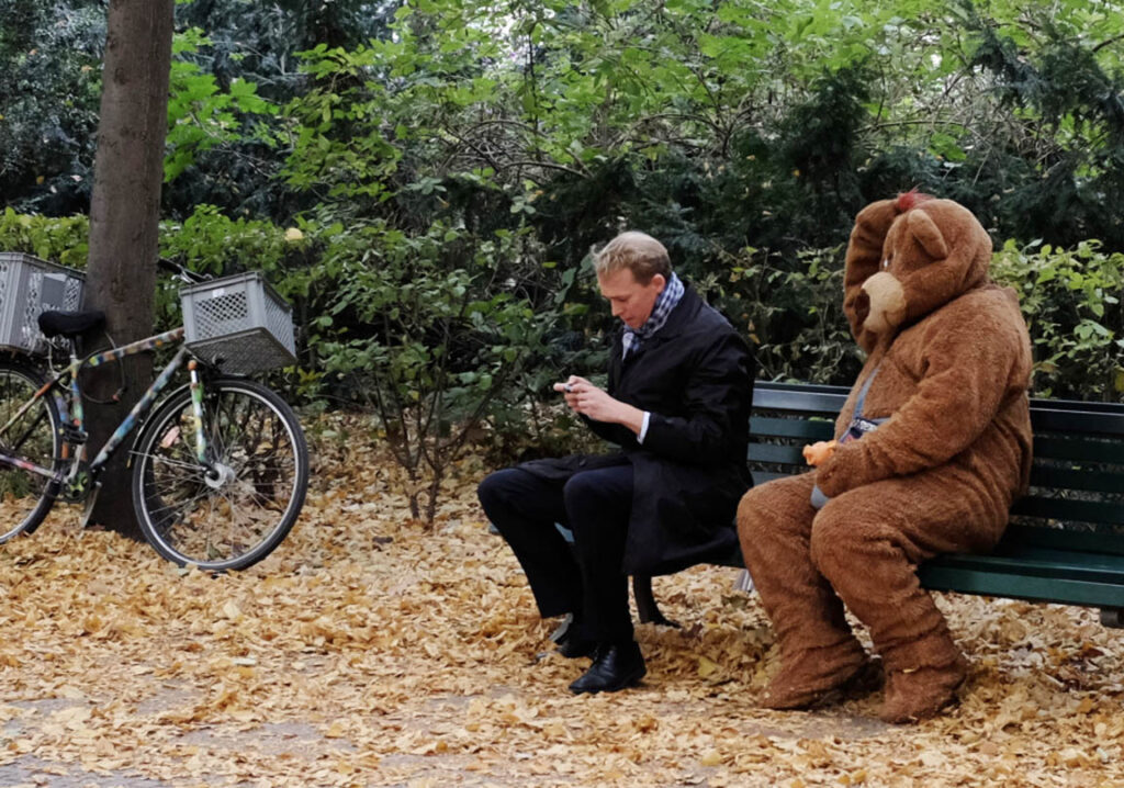 This is the closest to a brown bear anyone is likely to see in the streets of Berlin. - <em>by Kerk Boon Leng</em>