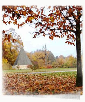 A Pyramid in a Park