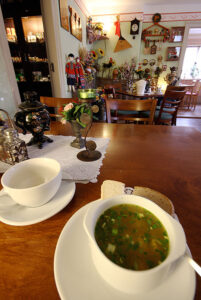 Warmed by Russian home-cooked food and ambience. - <em>by SL Wong</em>