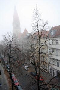 Unusually foggy in Berlin. - <em> by SL Wong</em>